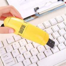 Mini USB Vacuum Cleaner Keyboard Cleaner Dust Collector Multifunctional Car PC Laptop Computer Cleaning Kit(China)