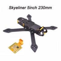 Skyeliner 5 นิ้ว 230 มม. 230 5 true X 4 MM Milling แขน 5 V/12 V PDB quadcopter ชุดกรอบ Drone