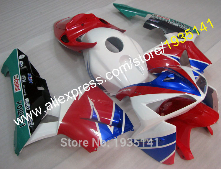 Горячие продаж,для Honda CBR600RR 2005 2006 F5 и аксессуары ЦБР 600 РР клавишу F5 05 06 многоцветные мотоцикл обтекатель комплект (литья под давлением)