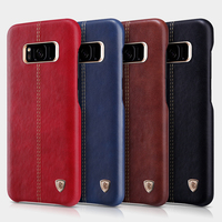 Nillkin S8 Case Classic PU Business Leather Phone Bag For Samsung Galaxy S8 PC Hard Back