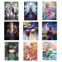 5D Round Cartoon characters Diamond Painting Diy Embroidery Cross Stitch Home Decor for People Gift