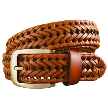 Plated Leather Belt 6