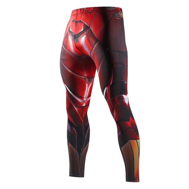 Superhero Superman Sweatpants For Men Compression Pants