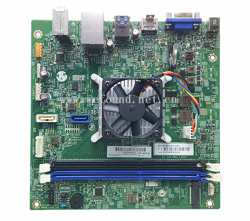 100% Working Desktop Motherboard For 844844-003 844844-603 460-A 510-A A8-7410 348.05E07.0011 System Board Fully Tested