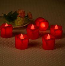 Электрическая лампа светодиодный небольшой чайный воск Свадебные свечи бар