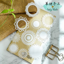 White Lace Paper Doilies/Placemats for Wedding Party Decoration Supplies Scrapbooking Paper Crafts