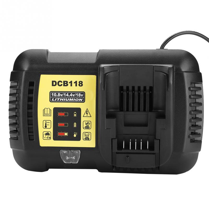 VBESTLIFE 4 5A Lithium Battery Charger 100 240V Universal for Dewalt 10 8V 14 4V 20V