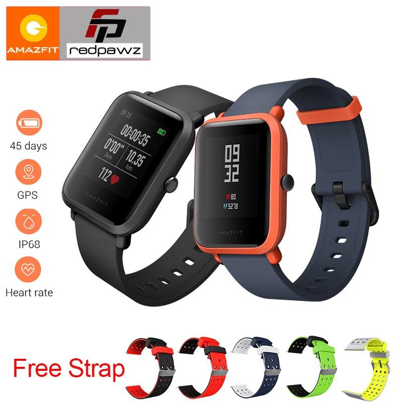 [Version anglaise] Xiaomi HUAMI Amazfit Jeunes Montre Smart Watch Bip PEU RYTHME Lite 32g ultra-léger Écran 1.28 Étanche GPS Boussole