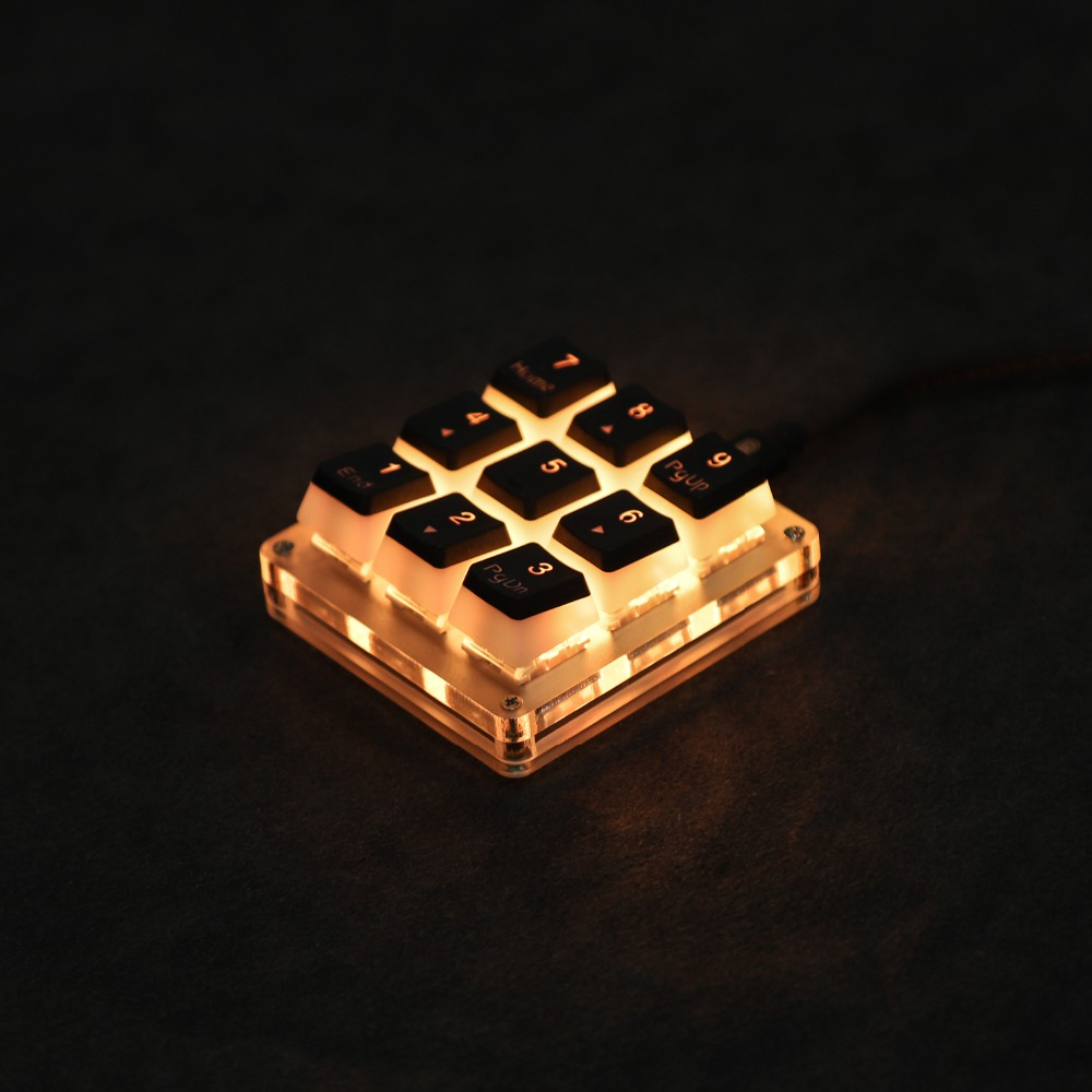 YMDK Mechanical-Keyboard Programmable Support Photoshop Mx-Switches Gaming Type-C Numpad For