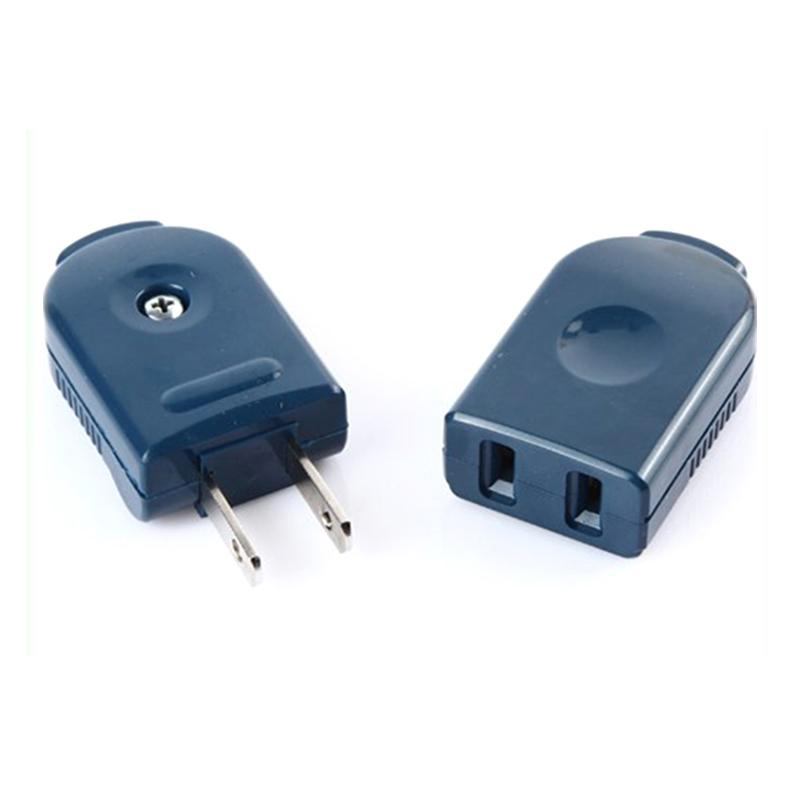 1 Pair 250V 10A Male Female Butt Plug Socket Connector Sockets  AC Power Cord Receptacle Wiring Removable
