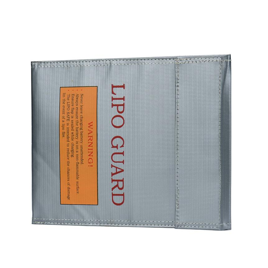 HOT LiPo Li-Po Battery Fireproof Safety Guard Safe Bag 18*23MM SEP 30