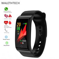 Smart Bracelet Heart Rate Pulse Meter Blood Pressure Waterproof F4 Sport Watch Fitness Band Swimming Wristband for Men and Women
