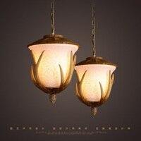 Rural Style Pendant Lamp Creative Vintage Pendant Light Resin Material Restaurant Light Fixtures Cafe Bars Art