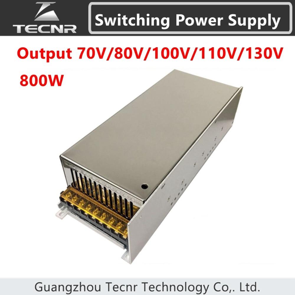 Switching Power Supply input AC 220V output DC 0-70V 80V 100V 110V 130V transformer for cnc engraving machine цены