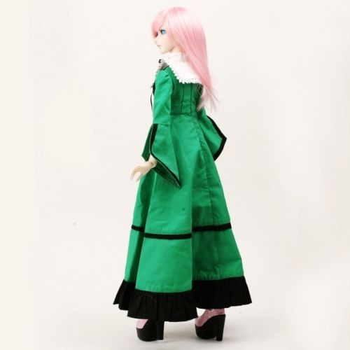 [wamami] 110# Green Dress/Outfit/Outfit 1/4 MSD 1/3 SD DZ Luts BJD Doll Dollfie