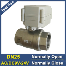 TF25-S2-C 2-Way Stainless Steel 1 DN25 Normal Close Valve With Signal Feedback AC/DC9-24V 5 Wires (CR502) High Quality CE/IP67 high quality bsp npt 1 2 dn15 brass normal open close valve tf15 b2 c ac110v 230v 2 or 5 wires for hvac water application