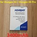 3400mAh Mobile Phone Battery for Doogee X6  Doogee x6 pro