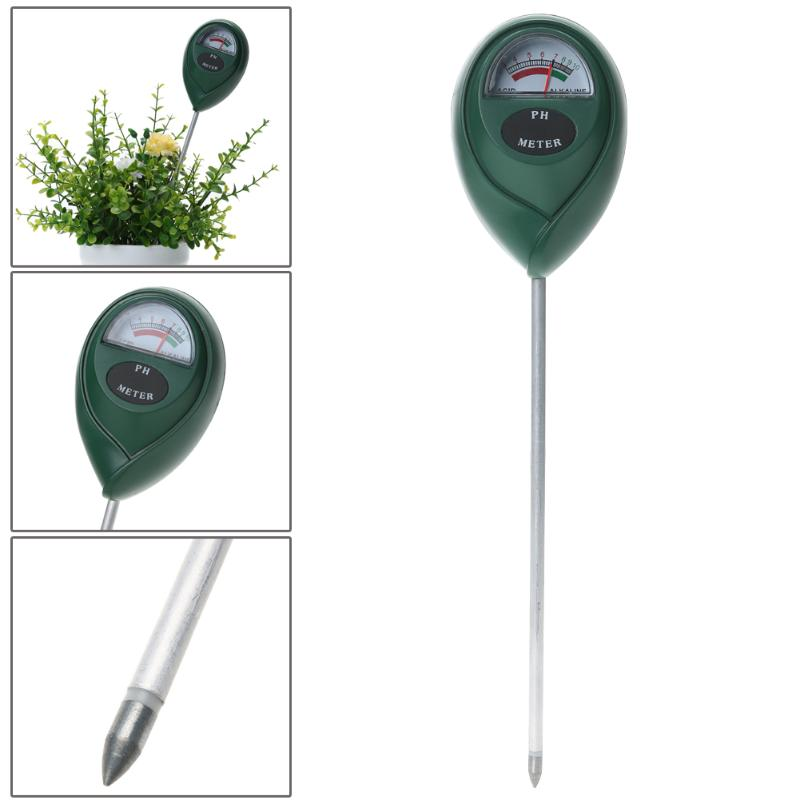 Medidor de ph do Testador Medidor de ph Umidade para Plantas Digital para Jardim Flores e Vegetais Profissional Jardim Solar Ferramenta Plantas Luz