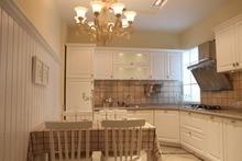 PVC/vinyl kitchen cabinet(LH-PV037)