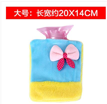 Water - filled hot water bottle small cute warm baby baby plush  hand Po Tong by the Warm Palace large warm water bag warm plush detachable wash safety explosion proof hot water bottle plush turtle clown fish nemo