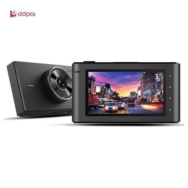 DDPai Mix3 Built-in 32G Dash Cam 1080p Sony Imx307 Sensor Dash board Camera WDR Car Recorder with WiFi G-Sensor Parking Monitor