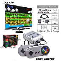 Super HD HDMI MINI SNES Retro Game Classic Handheld Video Game Player TV Game Console Built-in 621 Games