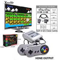 Super HD HDMI MINI SNES Retro Spiel Classic Handheld Video Spiel Player TV Spielkonsole Eingebaute 621 Spiele