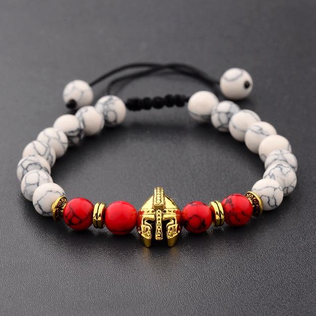 Bracelet Pierre De Lave Homme