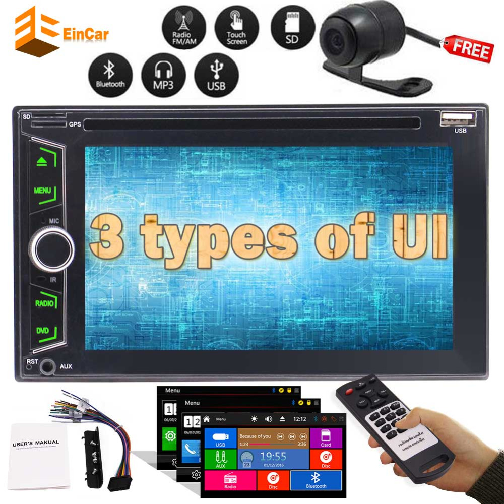 Car Stereo double 2 din DVD/CD Player Multi-Touch Capacitive Screen Car Stereo Autoradio Bluetooth Monitor Headunit+Free cameraCar Stereo double 2 din DVD/CD Player Multi-Touch Capacitive Screen Car Stereo Autoradio Bluetooth Monitor Headunit+Free camera