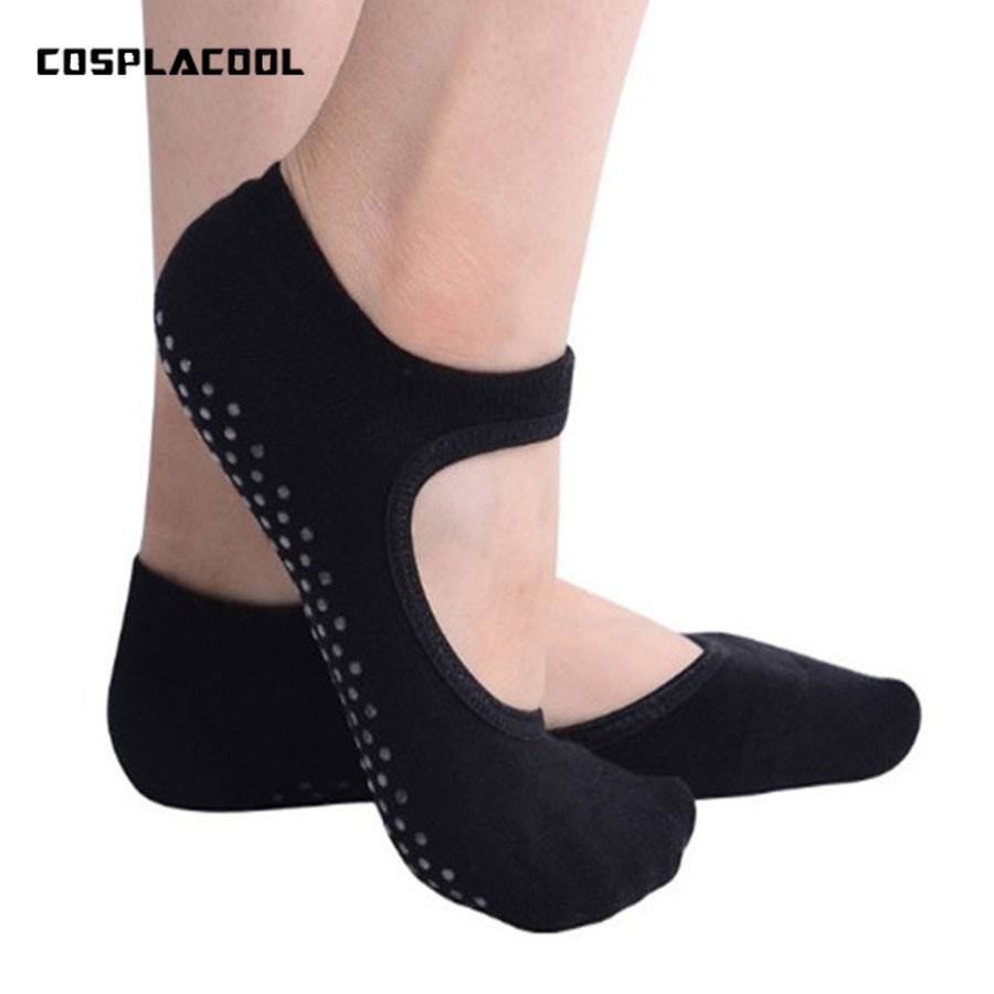 Women Ballet Dance Pilates   Socks   Backless Professional Fitness Pilates   Socks   Women Non-slip Dance Pilates   Socks   Women Grip   Socks