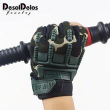 цена на Kids Tactical Fingerless Gloves for 5-13 years old Military Armed Anti-Skid Sports Outdoor half Finger Boys Girls Gloves R010