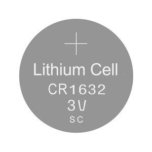 Image 2 - ליתיום כפתור לחצן סוללות CR1632   3V שעון סוללה CR 1632