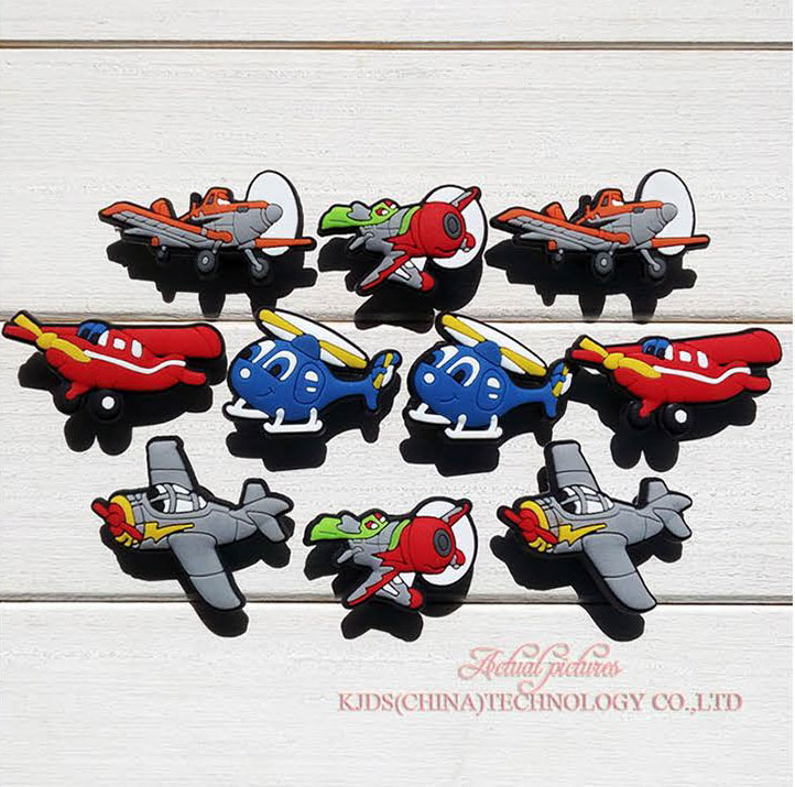New arrival hot sellings10Pcs/lot Planes shoes charms shoe decoration shoe accessories fit Wristbands & Croc Kids GiftNew arrival hot sellings10Pcs/lot Planes shoes charms shoe decoration shoe accessories fit Wristbands & Croc Kids Gift