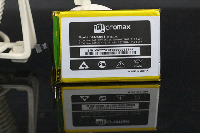 100% Original 3500mAH For Micromax Aq5001 Battery Replacement Phone Battery Batterie For Micromax Aq5001 With Tracking Number