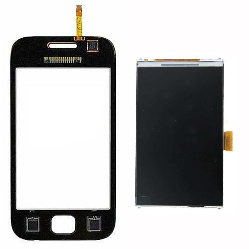 For Samsung Galaxy Ace DUOS GT-S6802 S6802 Touch Screen Digitizer Sensor Glass + LCD Display Panel Monitor