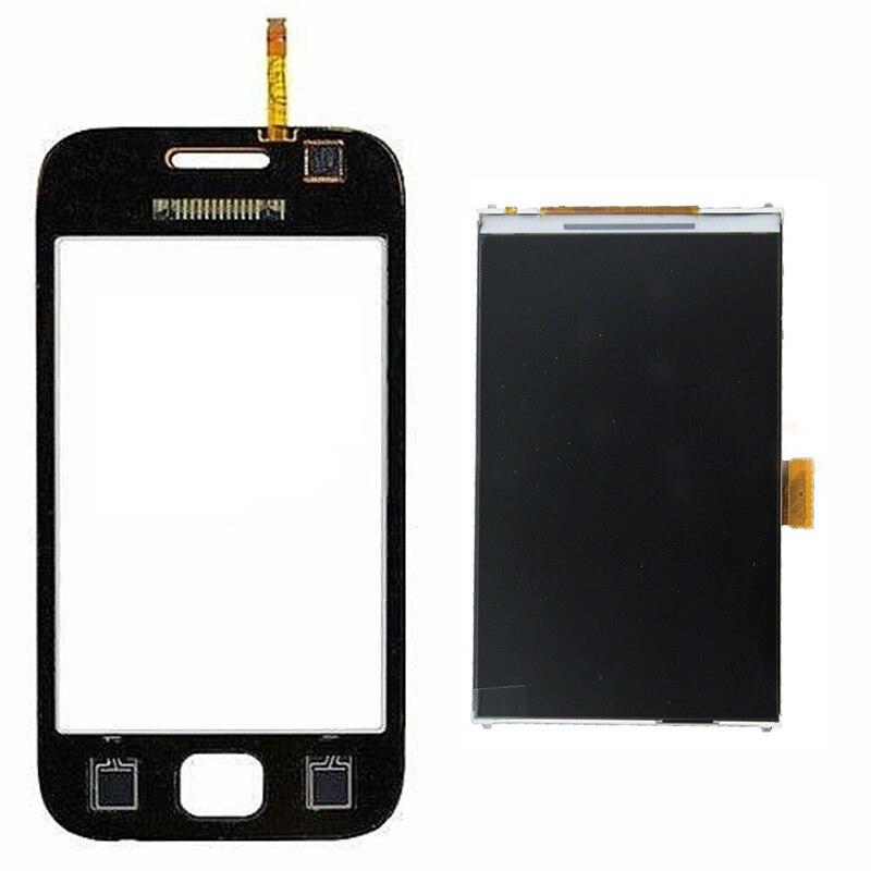 Pour Samsung Galaxy Ace DUOS GT-S6802 S6802 Écran Tactile Digitizer Capteur En Verre + LCD Moniteur à Écran