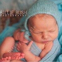 Handwerk Baby hand Knit Mohair Motorkap, Baby Fotografie Props. Fotografie prop. op Kraamcadeau 3