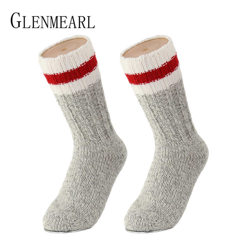 Merino ขนสัตว์ผู้หญิงผู้ชายเด็กถุงเท้า Superior ยี่ห้อการบีบอัด Coolmax ฤดูหนาวหนาร้านขายชุดชั้นในเด็กหญิงชายหิมะ Boot ถุงเท้า 30