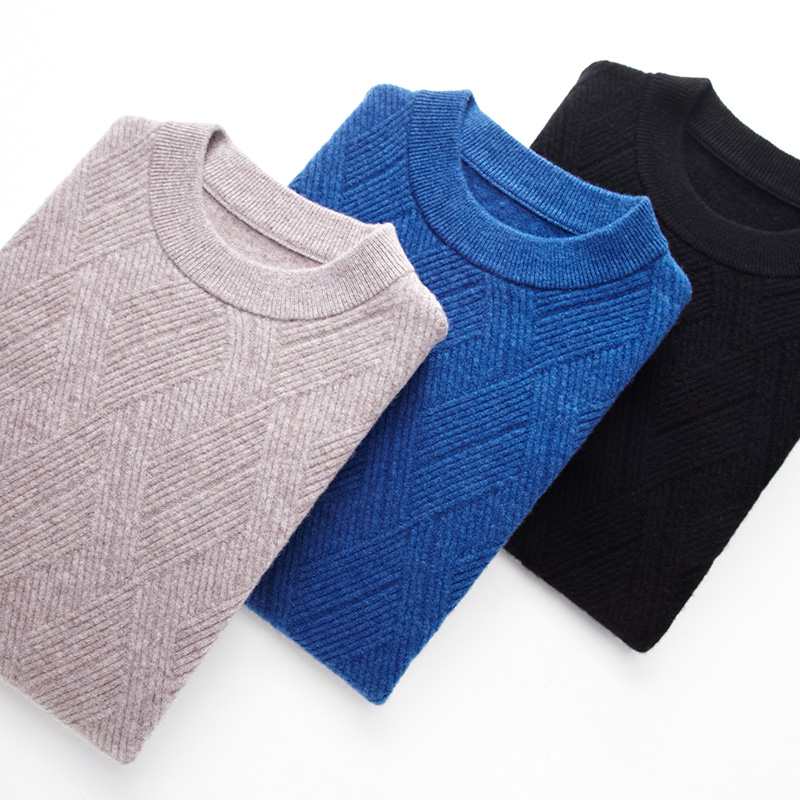 UCAK Brand Merino Wool Sweater Men Autumn Winter Soft Warm Cashmere Mens Sweaters 2019 New Arrival Pull Homme Pullover Men U3028 in Pullovers from Men 39 s Clothing