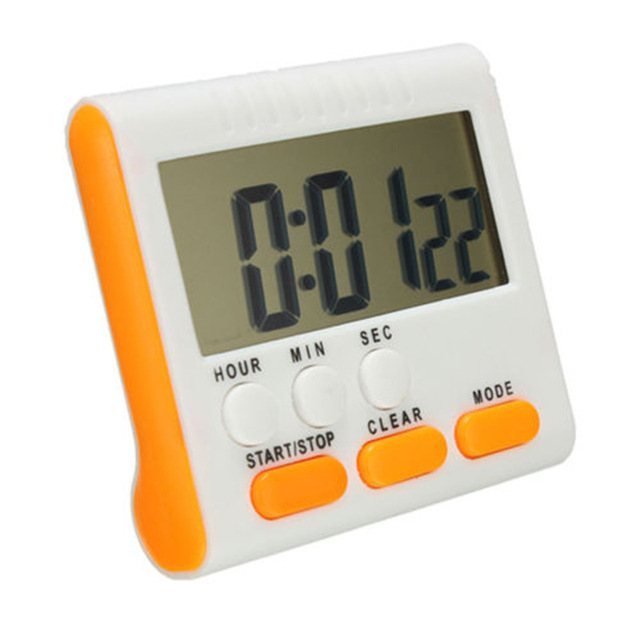 New Orange LCD Digital Cooking Kitchen Countdown Timer with Loud ...