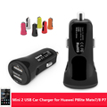 New Mini Dual USB Car Charger for Huawei Honor 8 P8 Lite Car Mobile Phone Charging 12V 24V Car-Charger for Huawei M7 M8 P7 P8