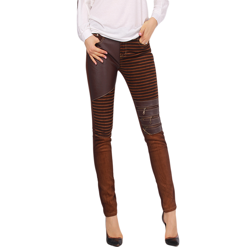 Popular Brown Leather Pants-Buy Cheap Brown Leather Pants lots ...