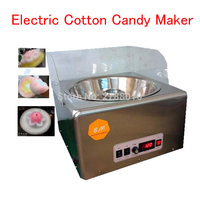 Electric Cotton Candy Maker Cotton Candy Floss Machine Stainless Steel Sugar Cotton Candy Machine Commercial Floss machine