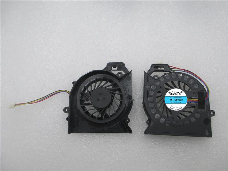 Купить с кэшбэком Fan for hp Pavilion DV6 DV6-6000 DV7-6000 KSB0505HB BH18 AD6505HX-EEB MF60120V1-C181-S9A MF60120V1-C180-S9A