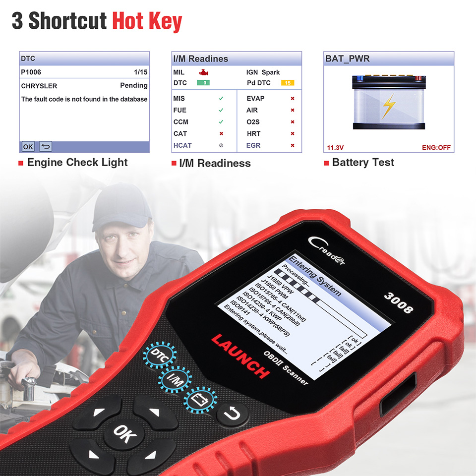 HTB105COXLfsK1RjSszgq6yXzpXa4 LAUNCH X431 CR3008 OBD2 Automotive Scanner OBD 2 OBDII Code Reader Diagnostic Tool free update pk KW850 NT301 AD510