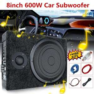 8Inch 600W DC 12V Car Amplifie