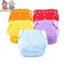 15 adet/grup bir boyut eğitim pantolon kullanımlık yıkanabilir bebek bezi bebek bezleri 5 çocuk bezi + 10 Inserts