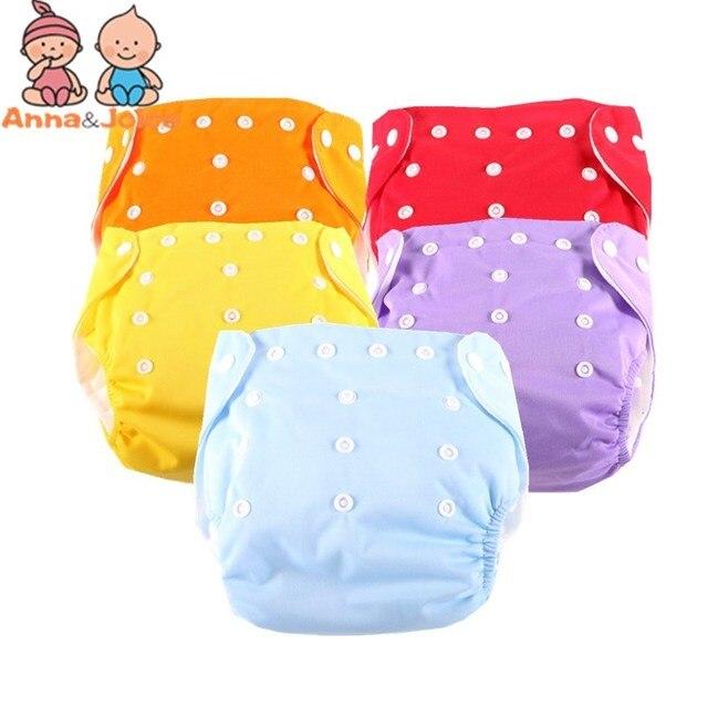 Couche culotte dentraînement en tissu réutilisable lavable pour bébé, taille unique, 15 pièces/lot + 10 Inserts