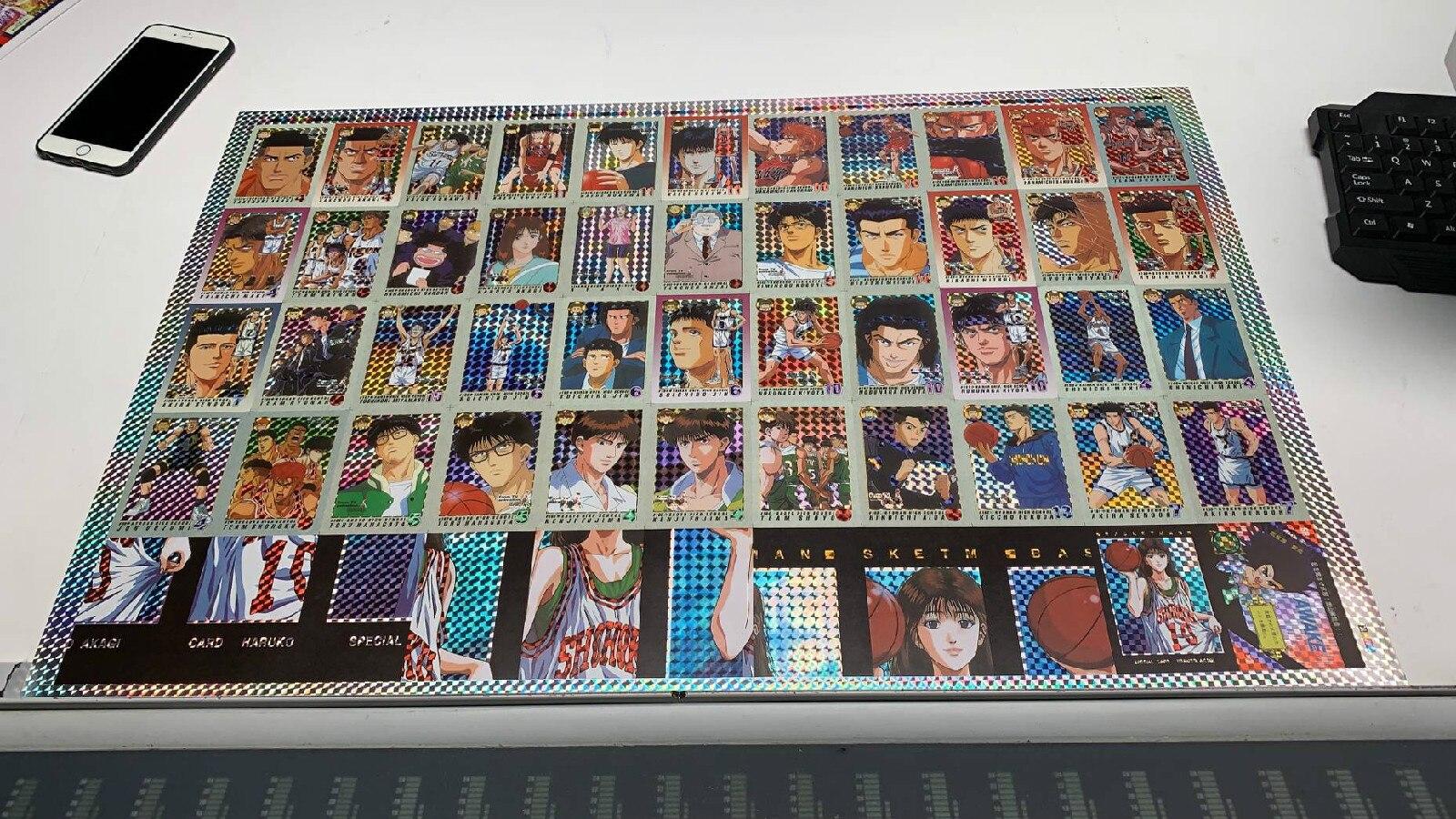 42 pièces/ensemble Slam Dunk quatrième balle combat enfance souvenirs jouets loisirs loisirs de Collection jeu Collection Anime cartes