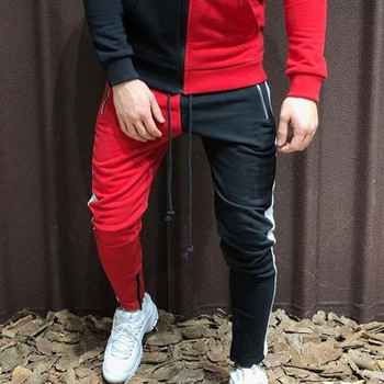 Europe and America High street The New Teens Summer Two-tone  Pants Zipper Cotton Trousers Leisure Sweatpants Running pants terkel division street america pr only